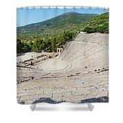 Epidaurus, Argolis, Peloponnese Shower Curtain