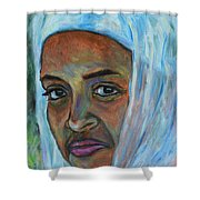 Ethiopian Lady Shower Curtain