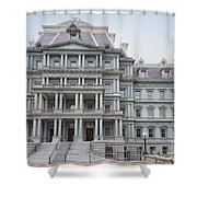 Executive Office Building Shower Curtain
