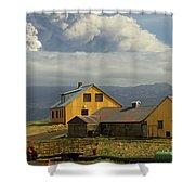 Eyjafjallaj�kull Ash Cloud, Iceland Shower Curtain