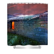 Fairy Tale Cabin Shower Curtain