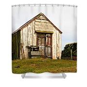 Falkland Island Farm Shower Curtain