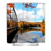 Autumn In Upper Michigan Shower Curtain