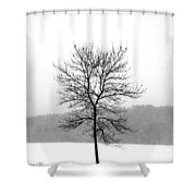 Fight Against The Storm Shower Curtain