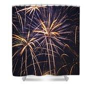 Fireworks Celebration  Shower Curtain