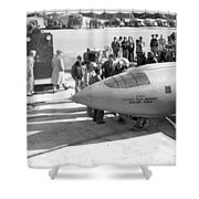 First Supersonic Aircraft, Bell X-1 Shower Curtain