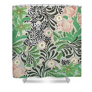 Floral Design Shower Curtain by William Morris