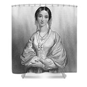 Florence Nightingale Shower Curtain