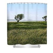 Florida Bay Everglades Shower Curtain