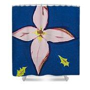 Flower Shower Curtain by Melissa Dawn