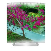 Flower Pot 2 Shower Curtain