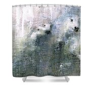Forty Shades Of Grey Shower Curtain