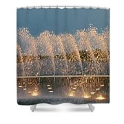 Fountain 1 Shower Curtain