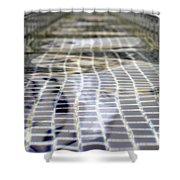 Fountain Water Shower Curtain
