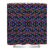 Fractal Pattern Duvet Shower Curtain