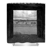 Framed Irish Landscape Shower Curtain