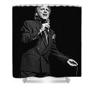 Singer Frankie Valli Shower Curtain