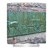 Franklin Roosevelt's Funeral Cortege Shower Curtain