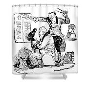 Franz Joseph Gall (1758-1828) Shower Curtain