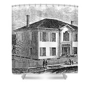 Freedmen School, 1867 Shower Curtain