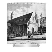 French Revolution, 1794 Shower Curtain