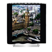 From The Eye Big Ben Shower Curtain