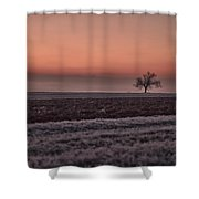 Frozen Time Shower Curtain