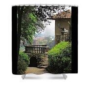 Garden View Shower Curtain