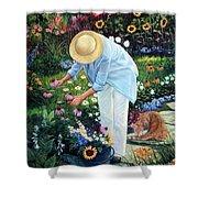 Gardener's Eden Shower Curtain