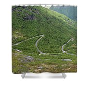 Gaularfjell Panorama Shower Curtain