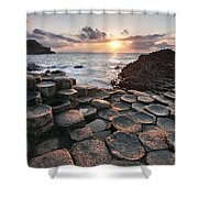 Giant's Causeway 2 Shower Curtain