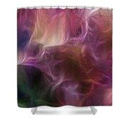 Gladiola Nebula Triptych Panel 1 Shower Curtain
