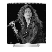 Gloria Estefan And The Miami Sound Machine Shower Curtain