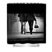 Goin' To The Movies Shower Curtain