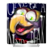 Gonzo - One-of-a-kind-freak Shower Curtain