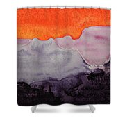 Grand Canyon Original Painting Shower Curtain