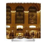 Grand Central Station Shower Curtain by Dan Sproul