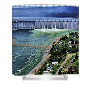 Grand Coulee Shower Curtain