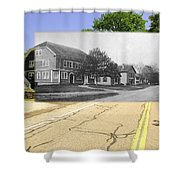 Grange Hall On The Commons In Little Compton Ri Shower Curtain