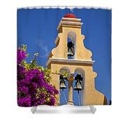 Greek Church Bells Shower Curtain