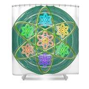 Green Revolution Chakra Mandala Art Yoga Meditation Tools Navinjoshi  Rights Managed Images Graphic  Shower Curtain