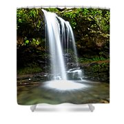 Grotto Falls Shower Curtain by Frozen in Time Fine Art Photography