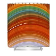 Growth Rings Shower Curtain