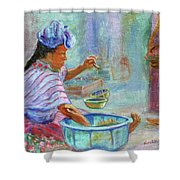Guatemala Impression Iv Shower Curtain