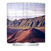 Haleakala Sunrise On The Summit Maui Hawaii - Kalahaku Overlook Shower Curtain