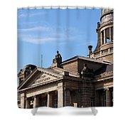 Hanseatic Supreme Court Of Hamburg Shower Curtain