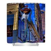 Hard Rock Cafe - Seattle Shower Curtain