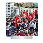 Hastings Pirate Day Shower Curtain