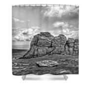 Haytor Rock Shower Curtain