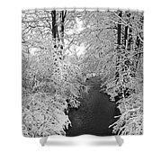 Heavy With Snow Shower Curtain